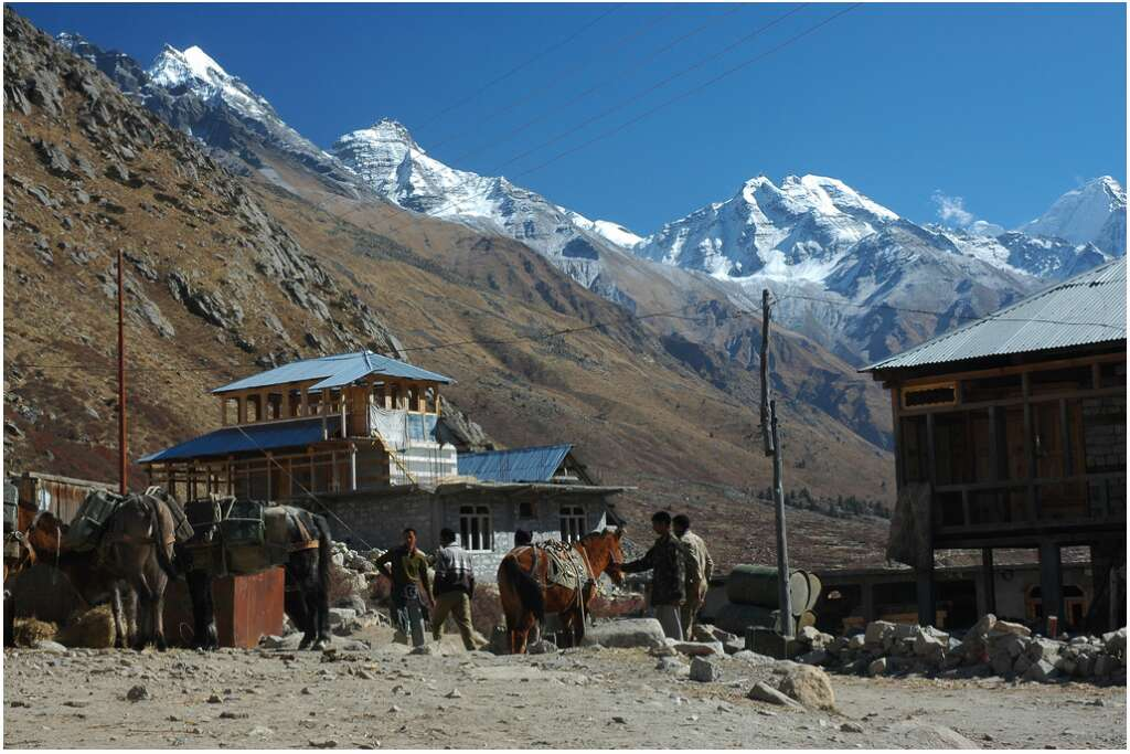 most isolated places in india chitkul village