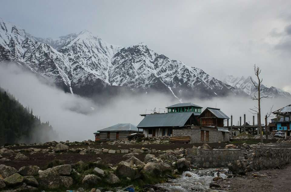 most isolated places in india chitkul