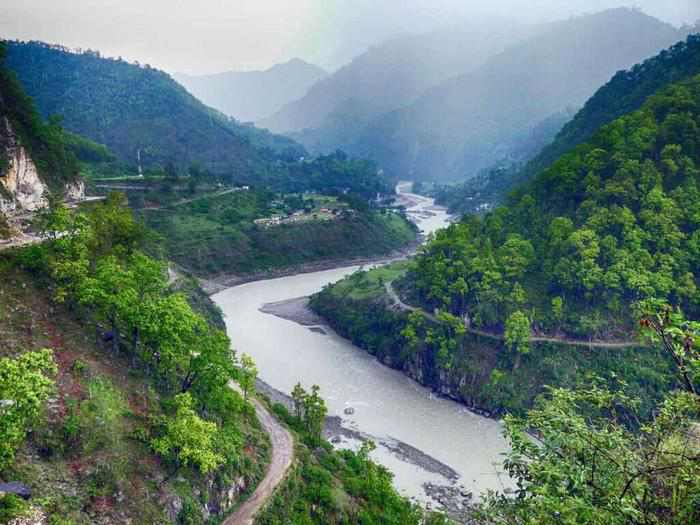 most isolated places in india dharchula kali river