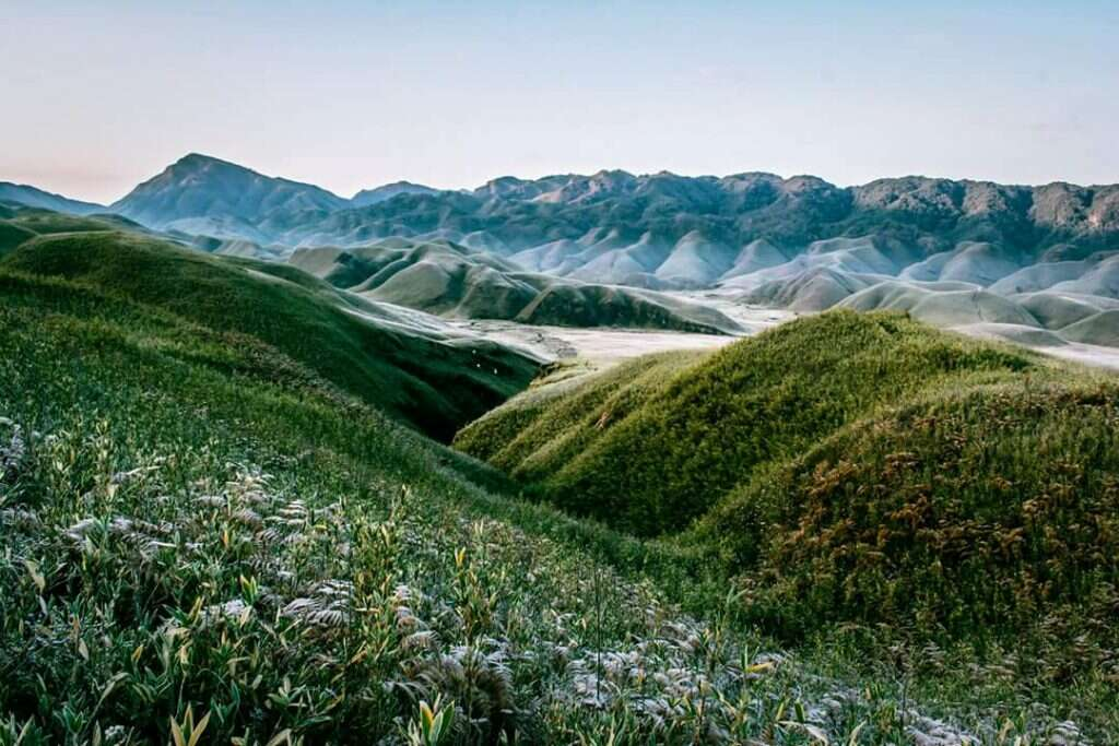most isolated places in india dzukou valley manipur