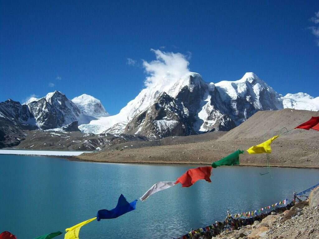 most isolated places in india gurudongmar lake