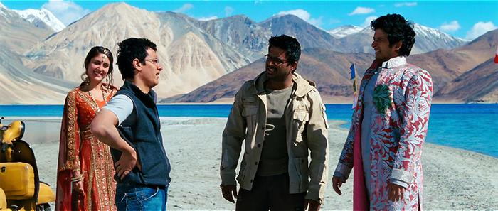 most isolated places in india pangong lake 3 idiots