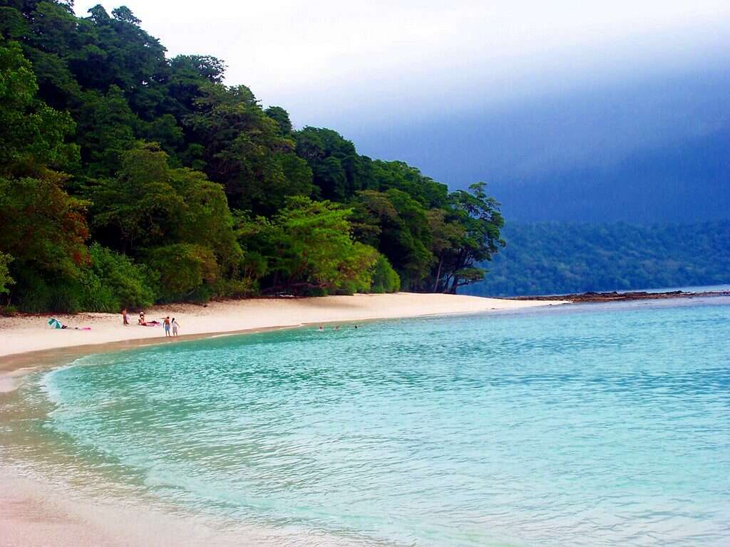 most isolated places in india radhanagar-beach andaman nicobar