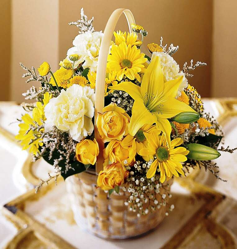mothers day floral arrangement floral basket