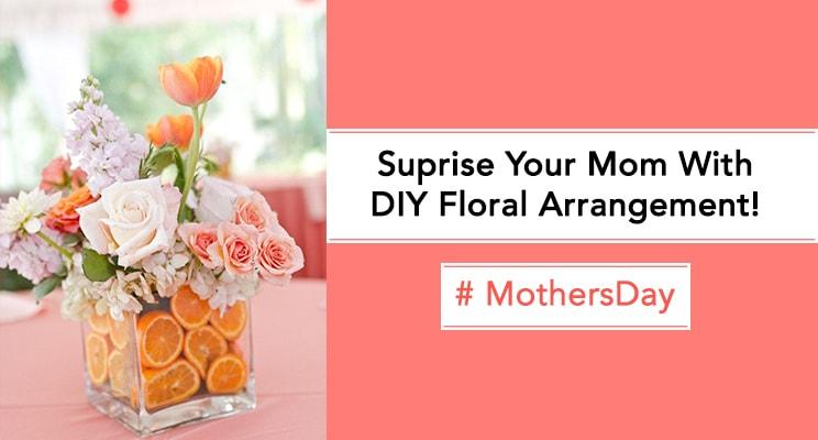 mothers day floral arrangement
