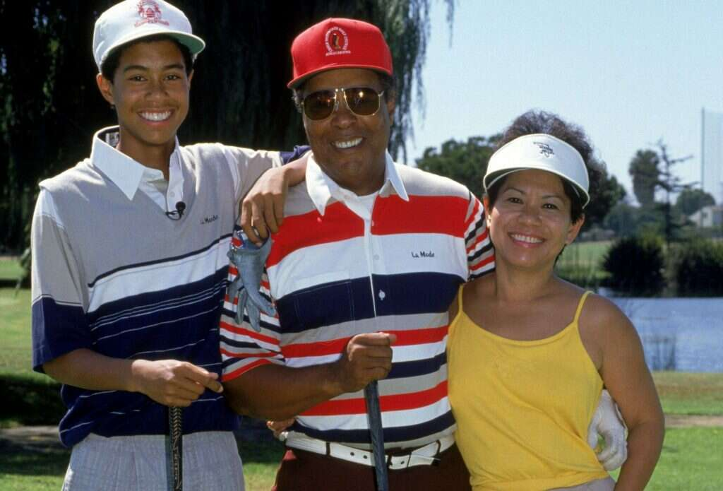 tiger woods parents mothers of athletes