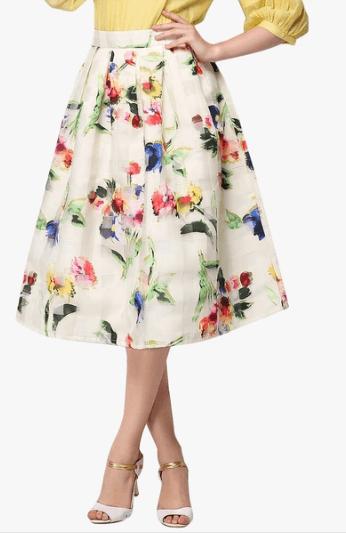 womens flowy skirt
