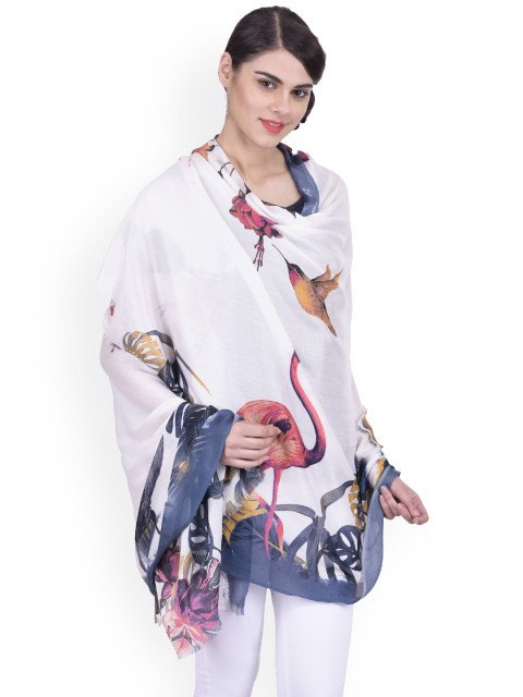 womens stole quirky print summer sale
