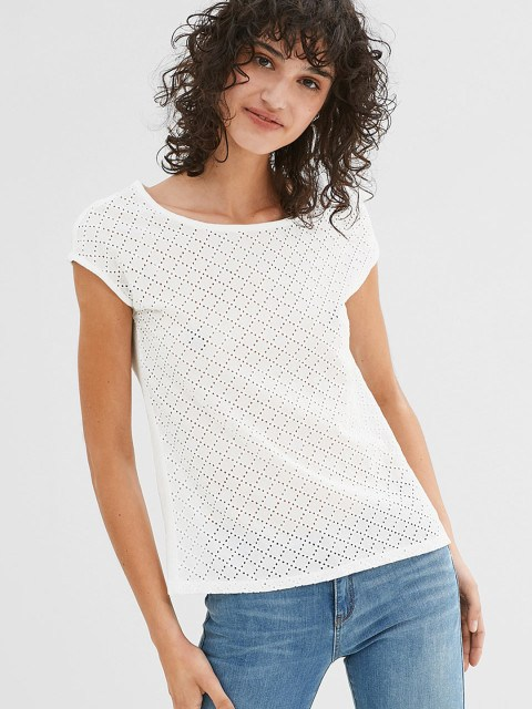 womens white top myntra sale