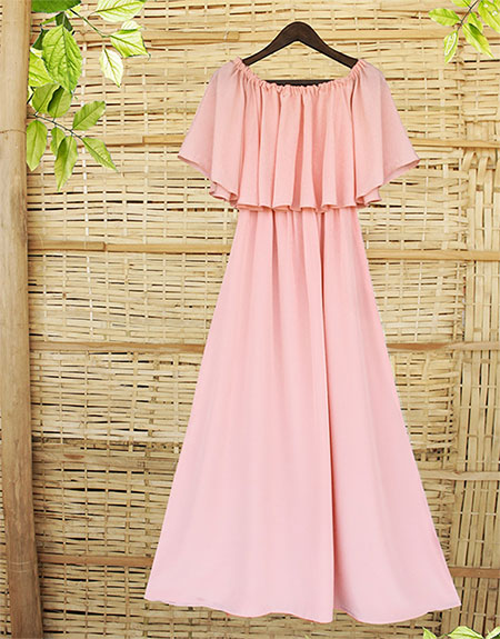 Casual Gown Dress