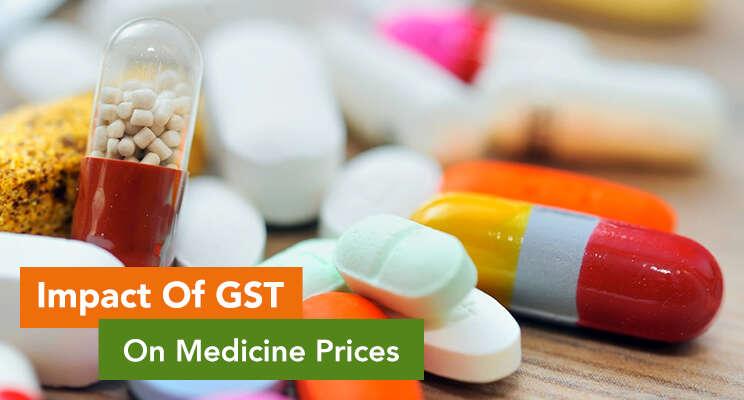 gst's impact on medicine prices