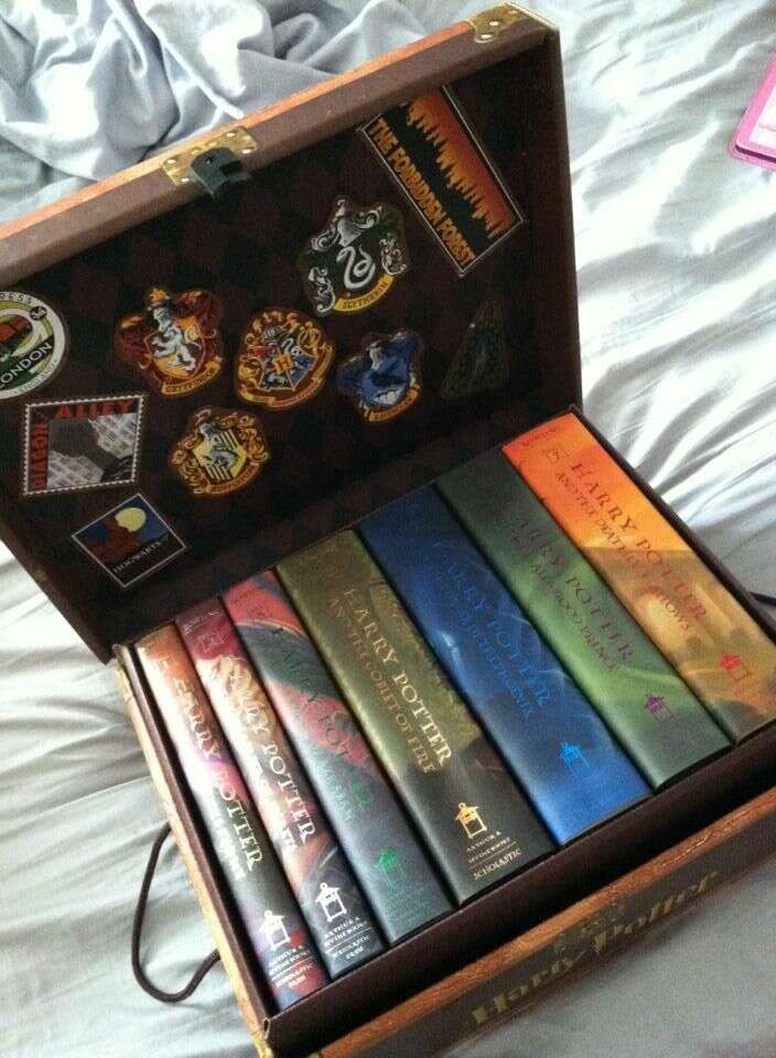 harry potter book collection geek day