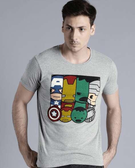 marvel inspired t shirt