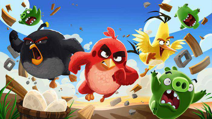 mobile games angry birds
