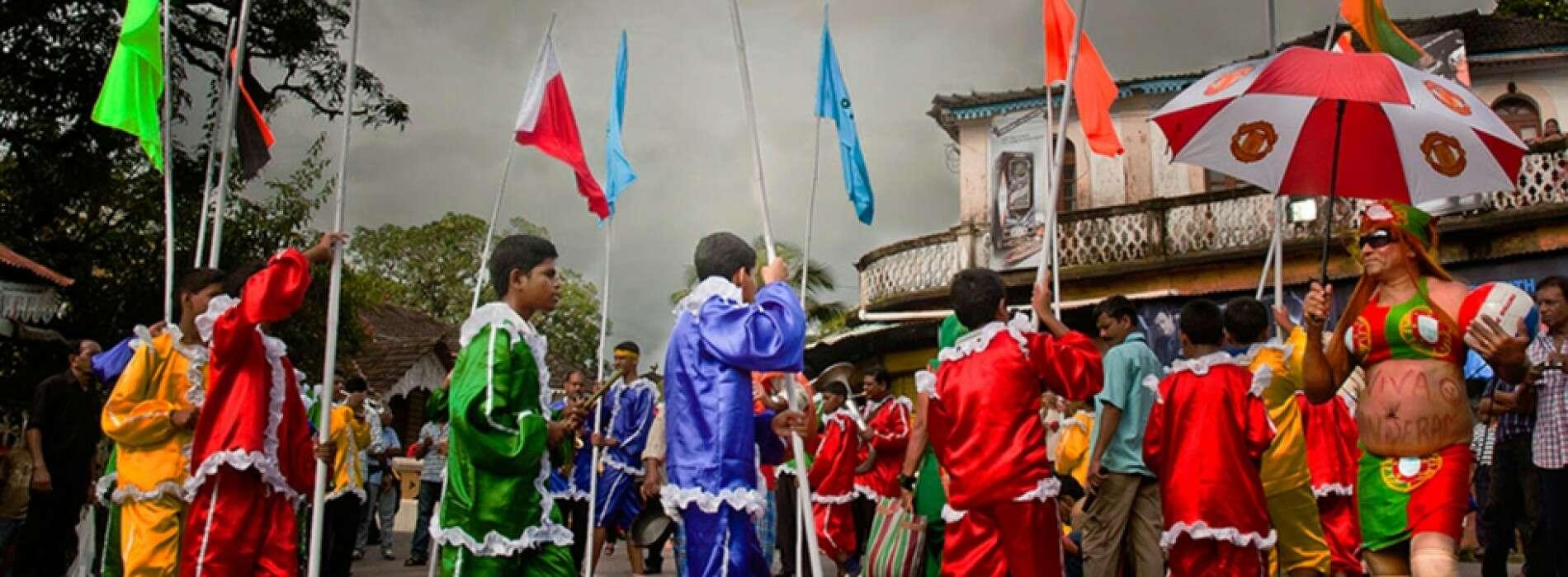 places to visit in goa bonderam festival