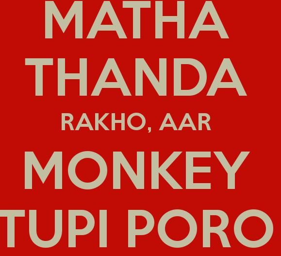 monkey tupi