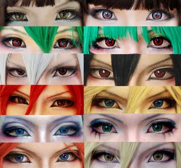 cosplay on a budget eyes