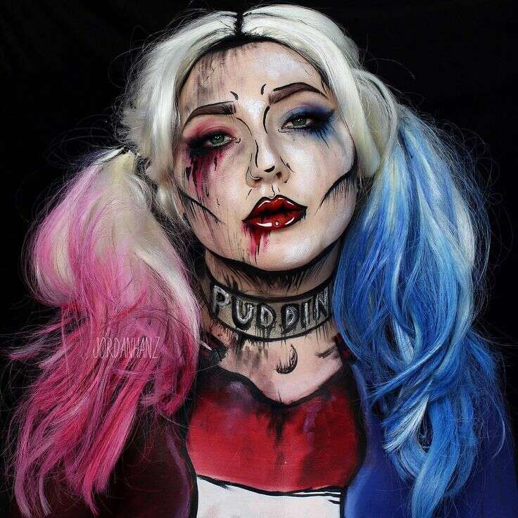 cosplay on a budget heavy makeup