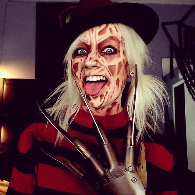 cosplay on a budget scary makeup