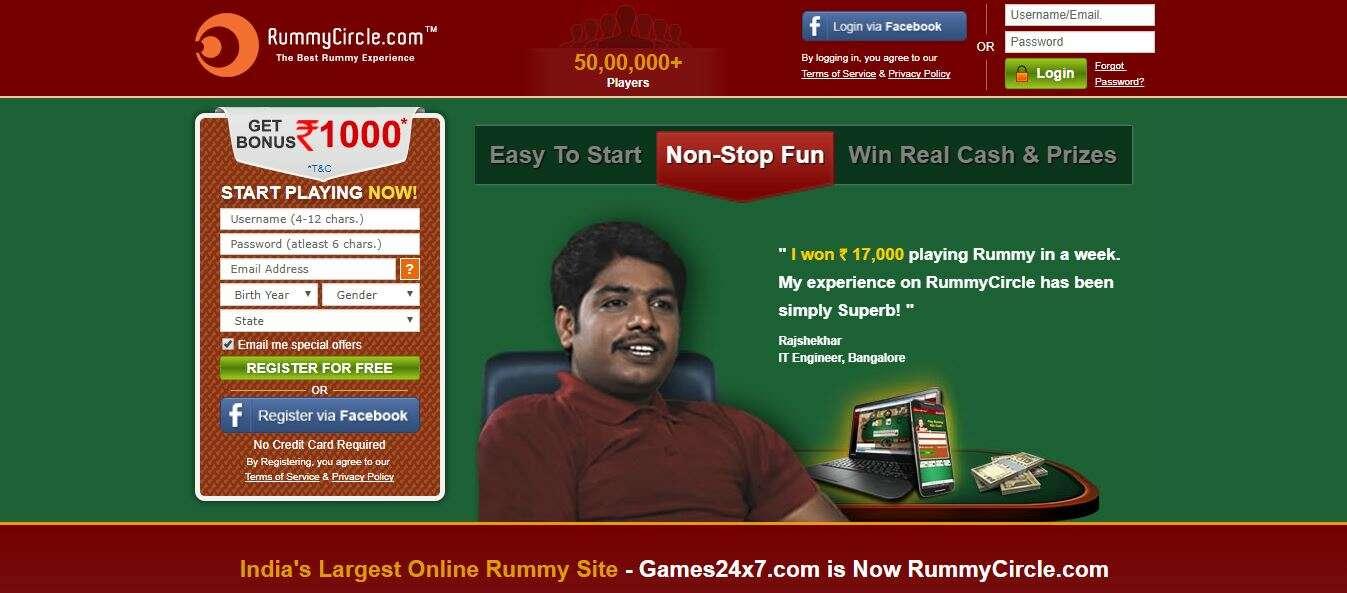 online rummy rummy circle