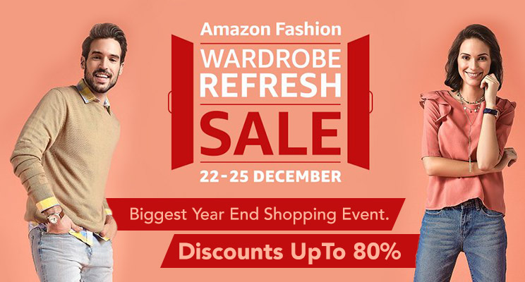 amazon fashion wardrobe refresh sale offers