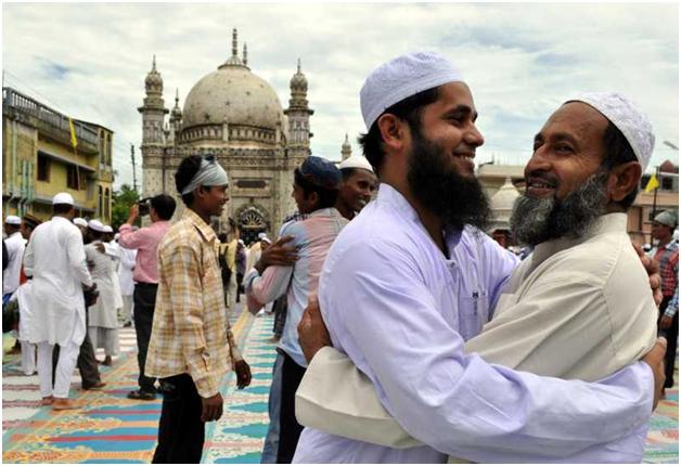 The Religious Hug