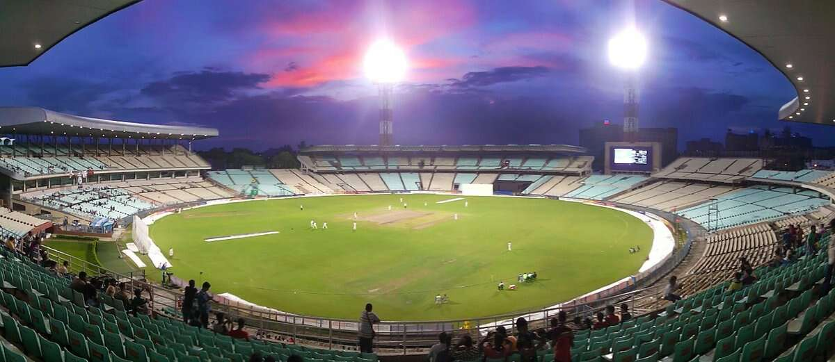 best cricket stadium in india eden gardens