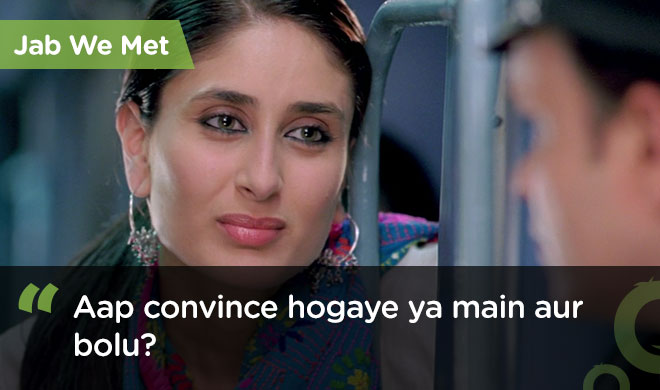 famous bollywood dialogues jab we met