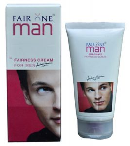 fair one man fairness cream for men