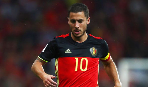 fifa world cup 2018 players Eden Hazard