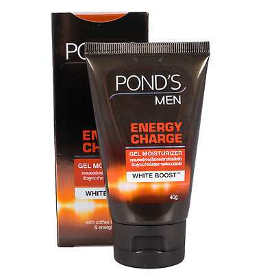 ponds men energy charge brightening gel moisturizer