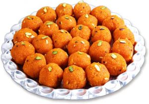 Motichur Laddus and Sweets