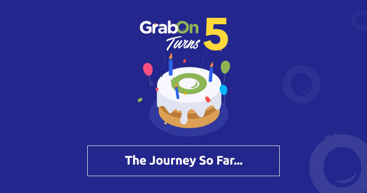GrabOn Turns 5