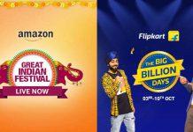 Amazon Great Indian Festival & Flipkart Big Billion Days Sales