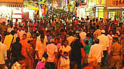 Chennai street shopping
