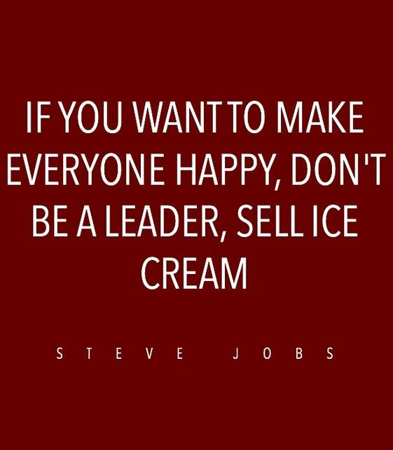 Ice cream quotes Steve Jobs
