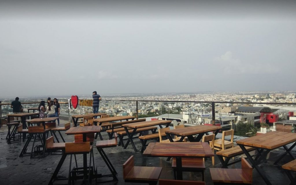 rooftop bar in hyderabad