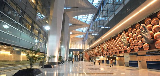 indira gandhi international airport delhi