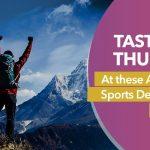 adventure sports destination in India
