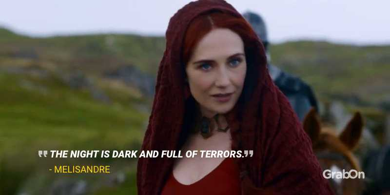 Red Woman Melisandre GoT