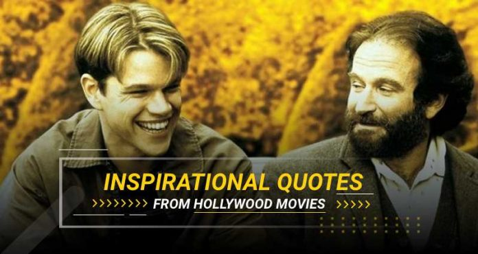 Hollywood Inspirational Quotes
