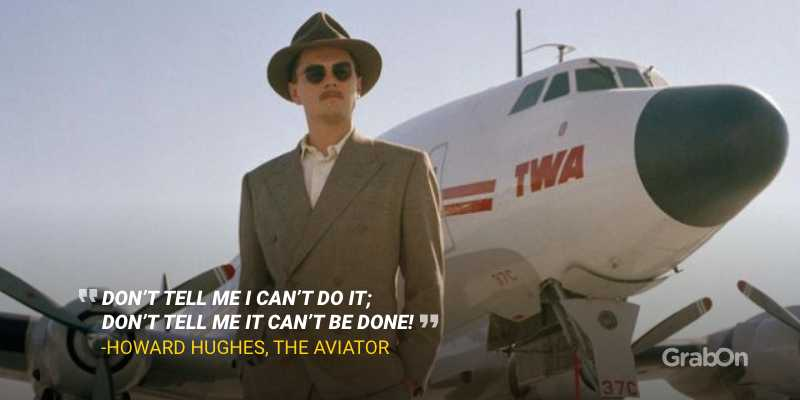 The Aviator Leonardo Caprio