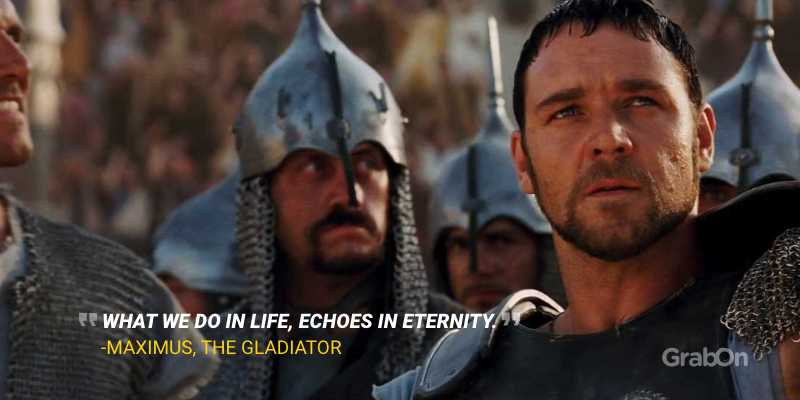 Maximus Gladiator Russell Crowe