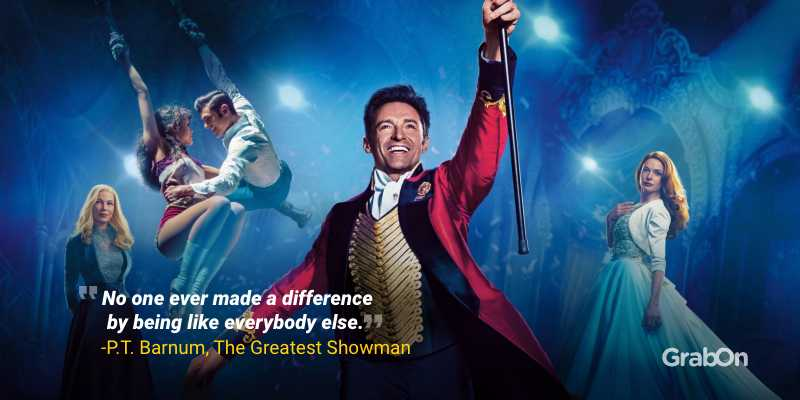 Hugh Jackson Quotes Greatest Showman