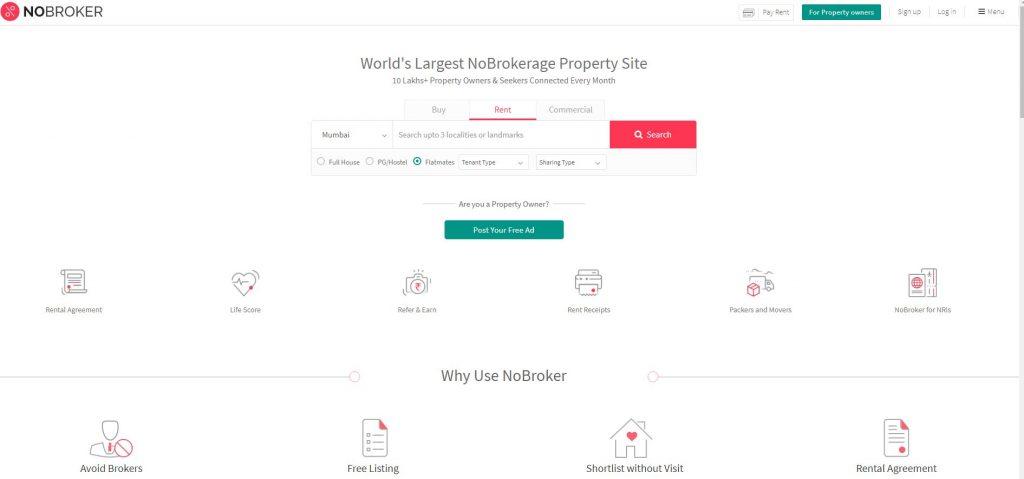 Best Online Flat Rent Website