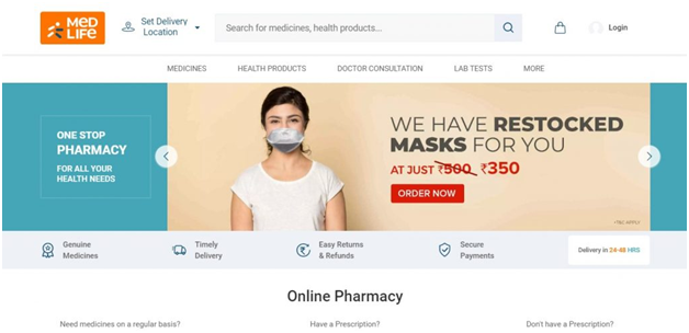 Buy Quality Medicines Online From Medlife