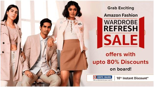 Amazon Fashion Wardrobe Refresh Sale