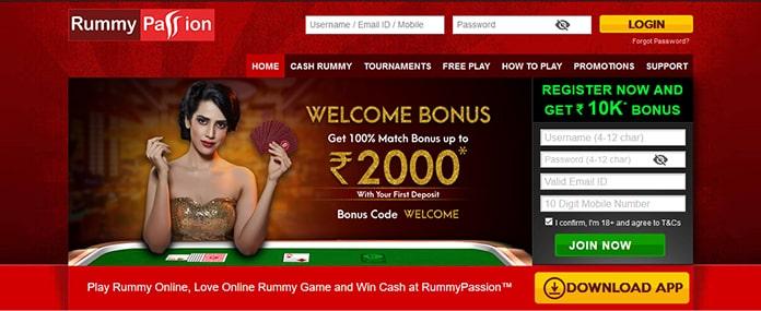 Online Rummy Rummy Passion