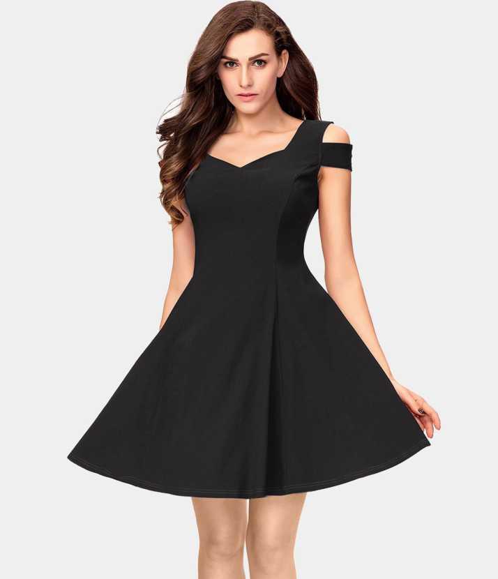 A pretty black dress