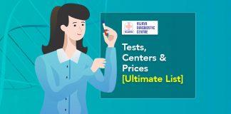 Vijaya Diagnostics Tests, Centers & Prices